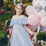 Pastelowe balony na Komunię